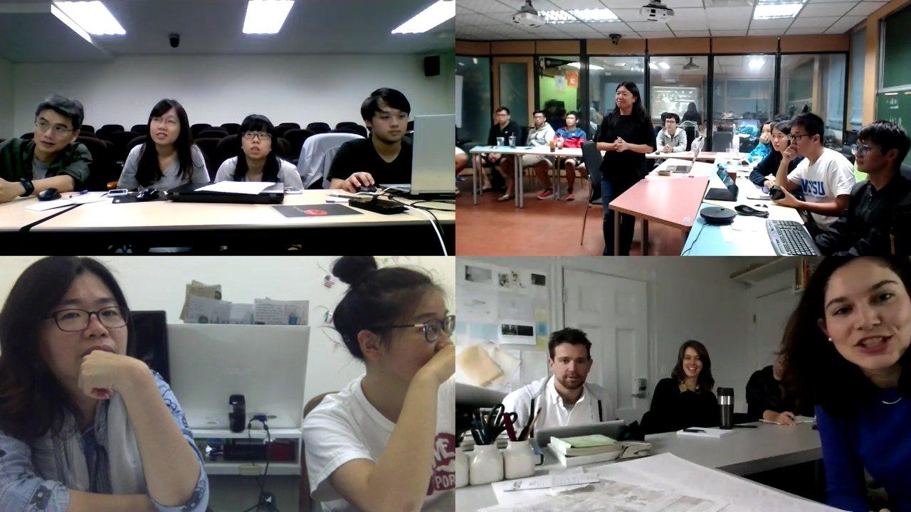 中山大學海洋環工系、成功大學都市計劃學系、台北市立大學城市發展學系與美國哈佛大學...