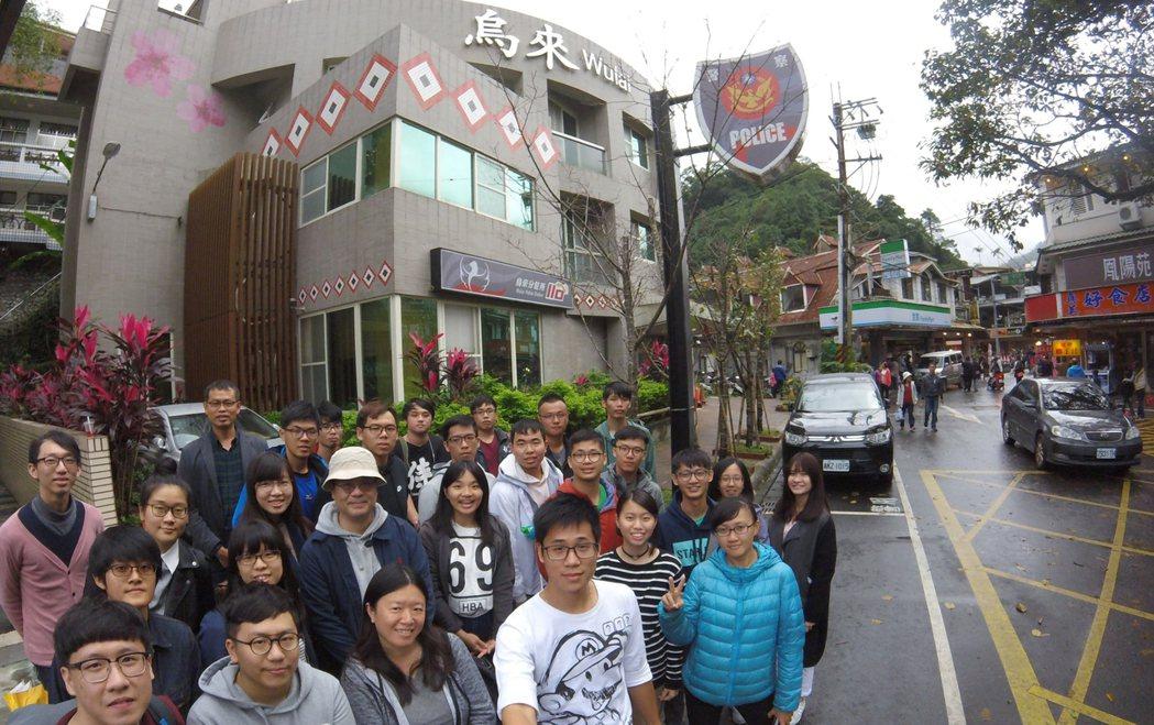 中山大學海洋環工系、成功大學都市計劃學系與台北市立大學城市發展學系學生,組成「烏...