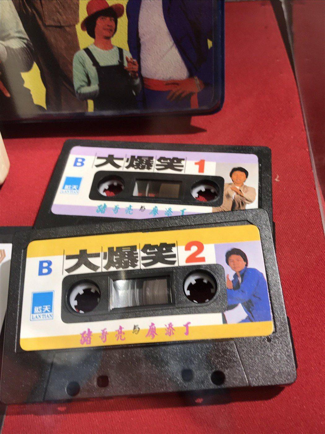 當年餐廳秀的卡帶,家人保存至今。記者葉君遠/攝影