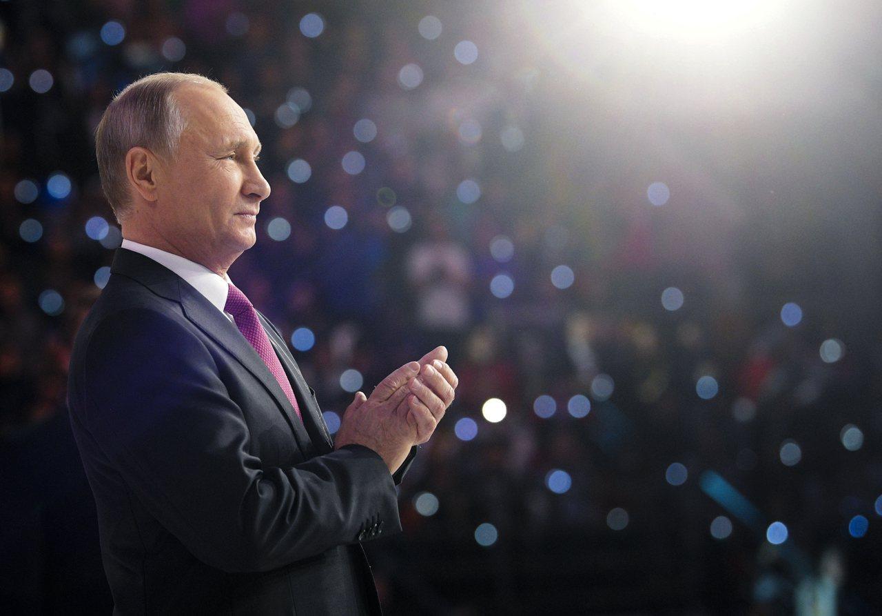俄國總統普亭6日宣布明年大選將尋求連任。美聯社