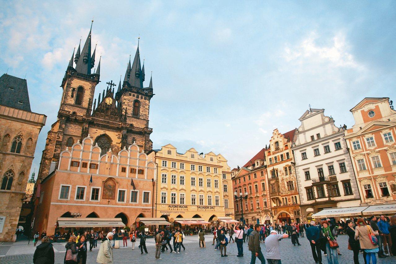 捷克、德國的歐洲之旅今年相當熱門。 圖/陳水草提供
