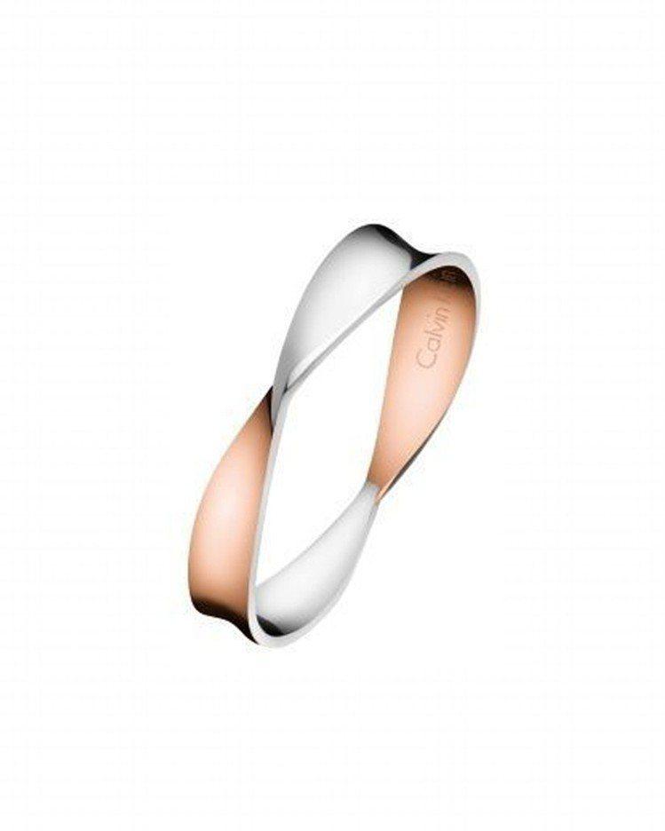 Calvin Klein Supple系列戒指,約2,000元。圖/Calvin...
