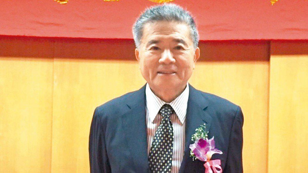 豐興董事長林明儒。 報系資料照