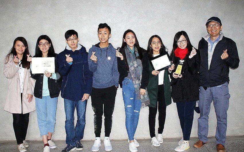 元智管院7位學生參加台積電青年築夢計畫,獲50萬元的圓夢基金。 元智大學/提...