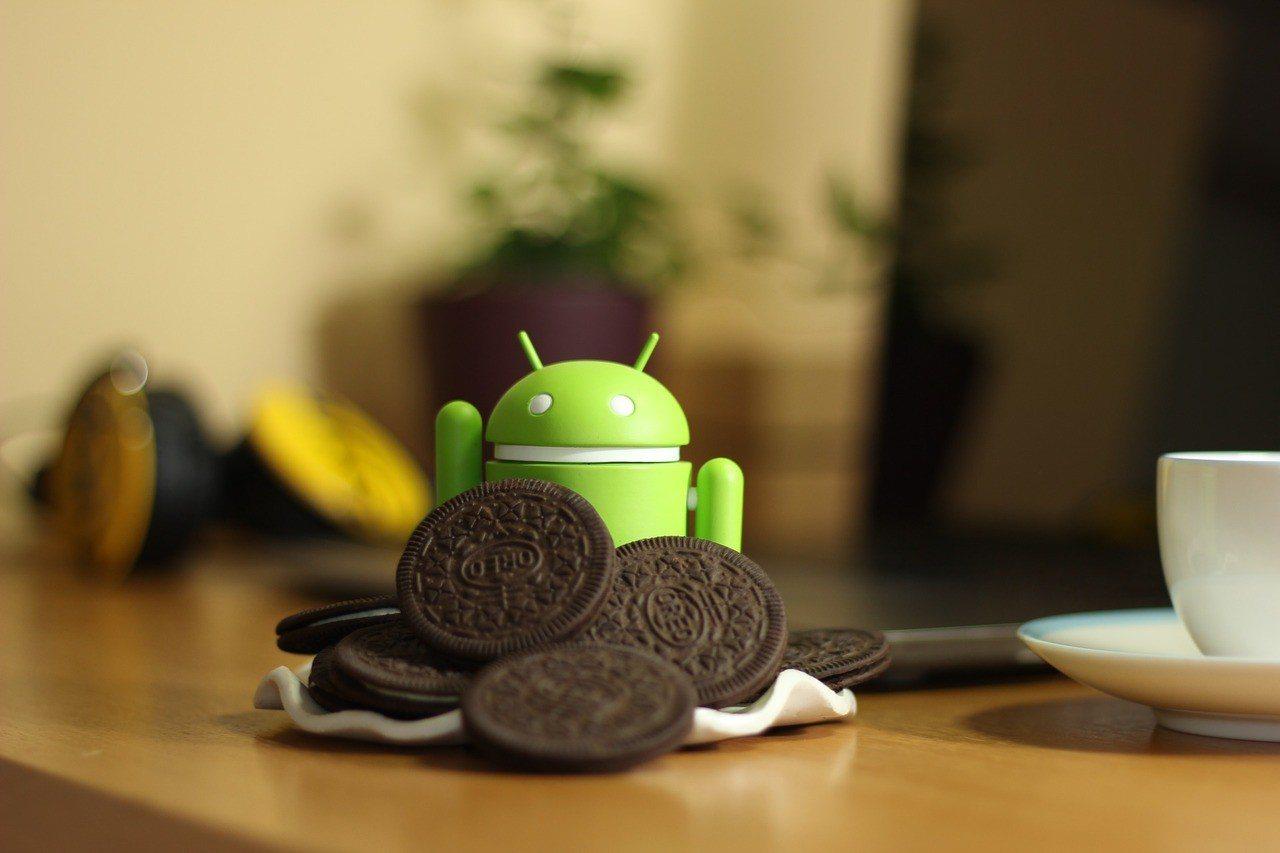 Android 8.1 Oreo作業系統開始更新。 圖/PIXABAY