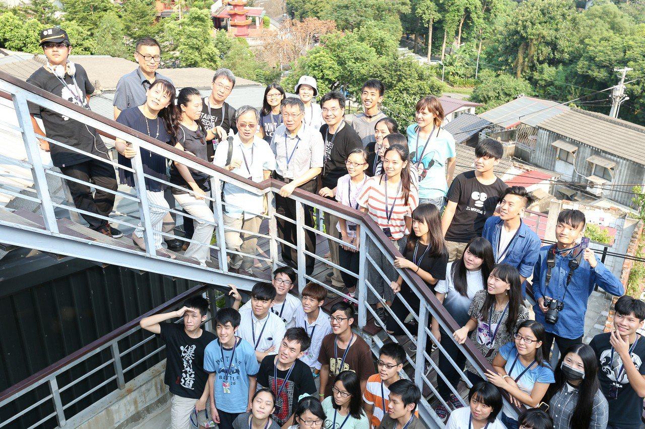 圖為台北市影視音實驗教育機構。聯合報系資料照/記者程宜華攝影