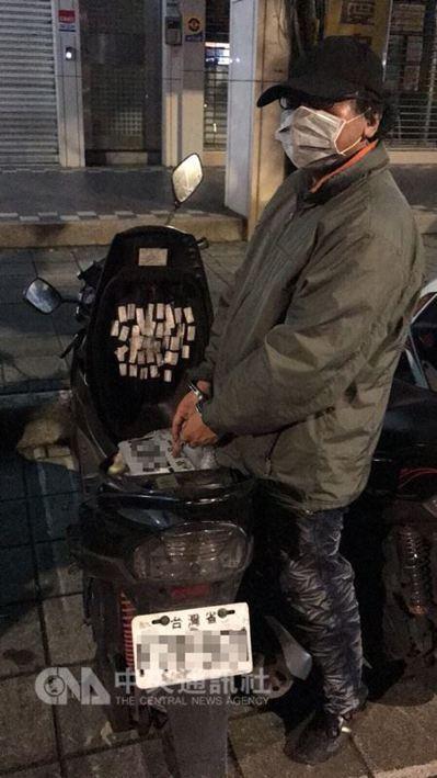 因竊盜罪遭通緝的50歲彭姓男子,近半年在大台北地區犯下至少6起載運3C商品貨車竊...