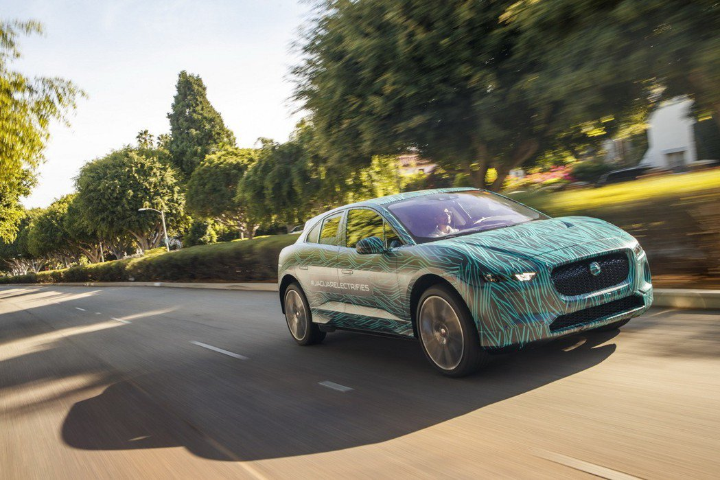 Jaguar I-Pace 即將發表。 摘自Jaguar