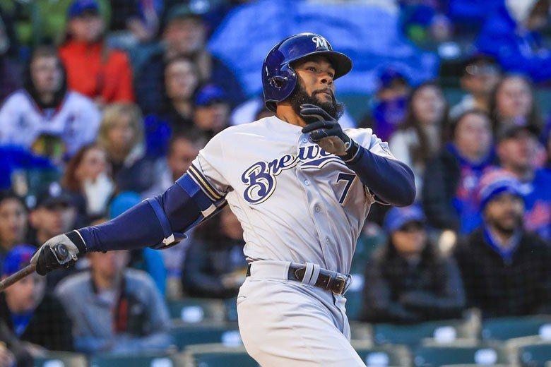 譚姆斯從韓國職棒打回大聯盟,本季只出賽138場就打出31支全壘打、26支二壘安打...
