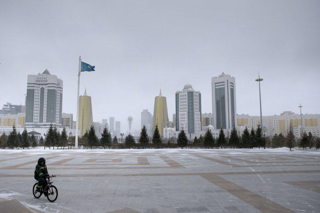 哈薩克首都設在阿斯塔納是總統納札爾巴耶夫個人拍板定案。 路透