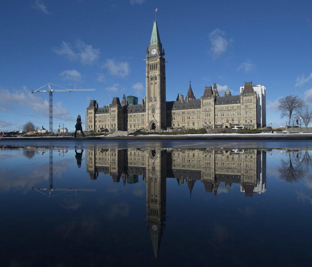 加拿大國會大樓位於首都渥太華。 美聯社