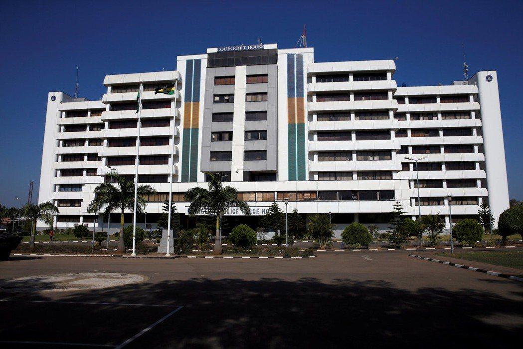 在奈及利亞首都阿布加的警政署。 路透