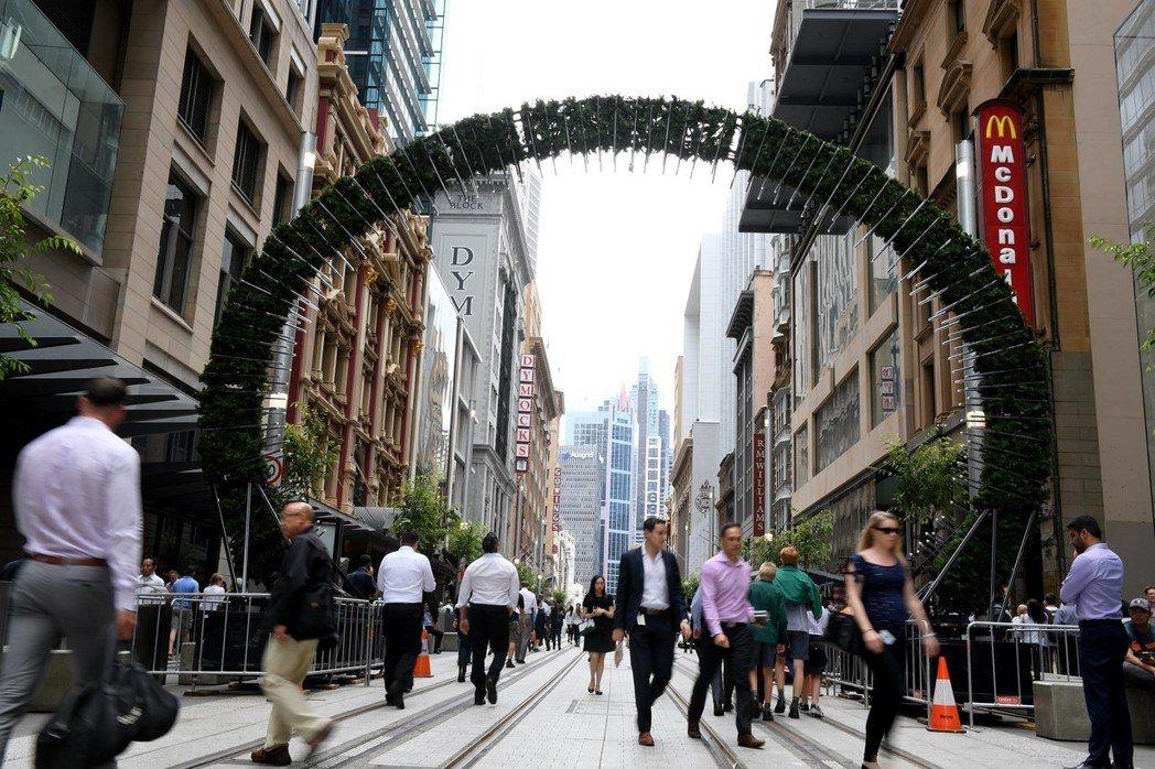 雪梨常被誤認為澳洲首都。 歐新社