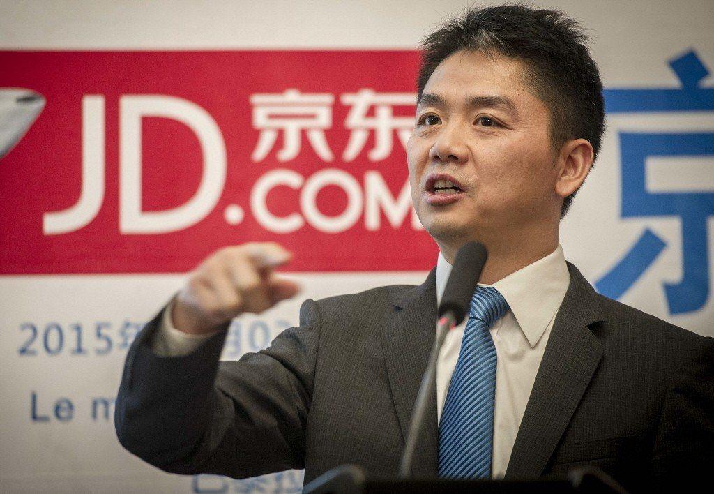京東集團創辦人、首席執行官劉強東。 照片來源/新華社
