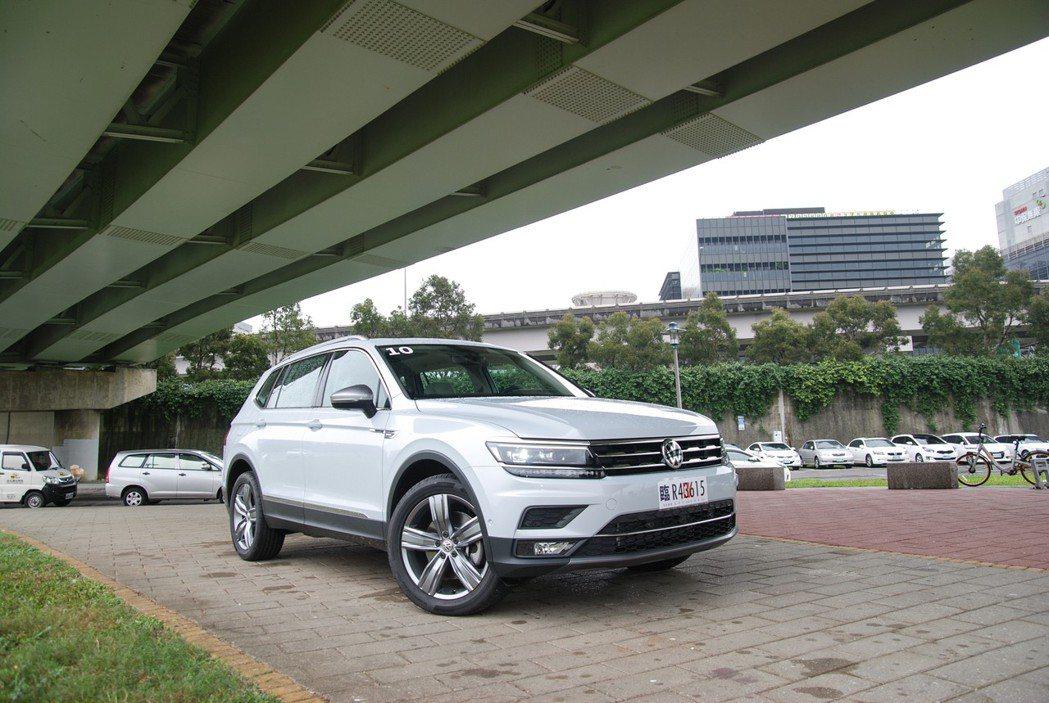Tiguan Allspace 400TDI 七人座車型補足該車係的產品陣容,預...
