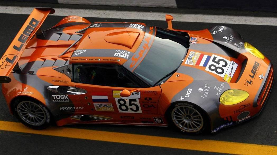 2009年Spyker也進軍Le Mans GT2R組別賽事,獲得第五名成績。 圖片來源:Spyder