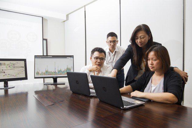沒有實體分行的王道銀行透過大數據了解客戶,靠數據能量和快捷動能創造競爭優勢。 楊...