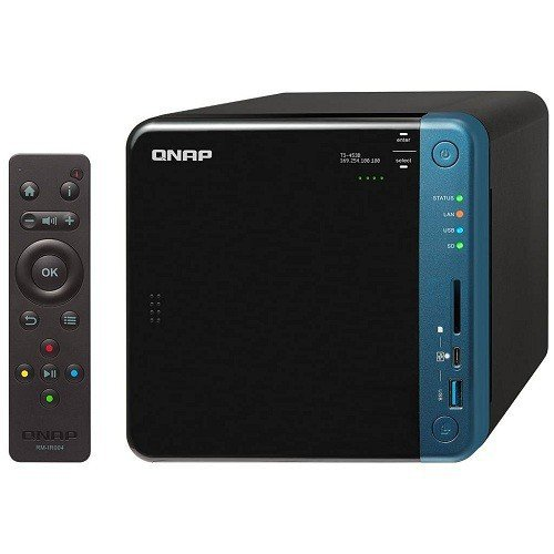 圖說:QNAP 威聯通 TS-453B-4G 網路儲存伺服器,原價22,900元...