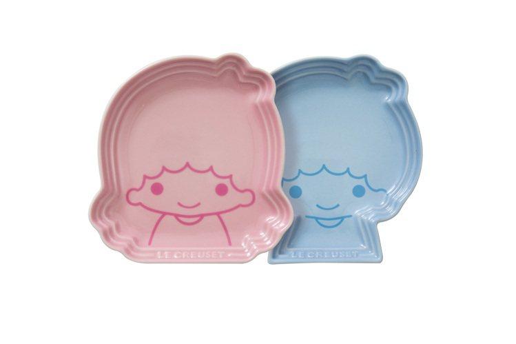 Little Twin Stars造型盤2入,售價1,980元。圖/LE CRE...