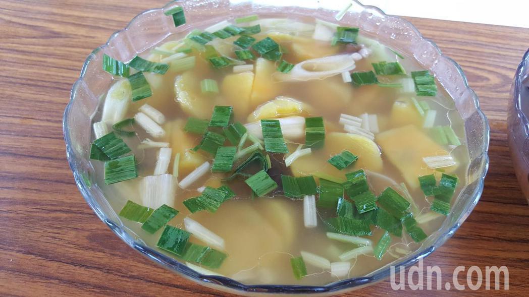 各式甘藷料理。記者胡蓬生/攝影