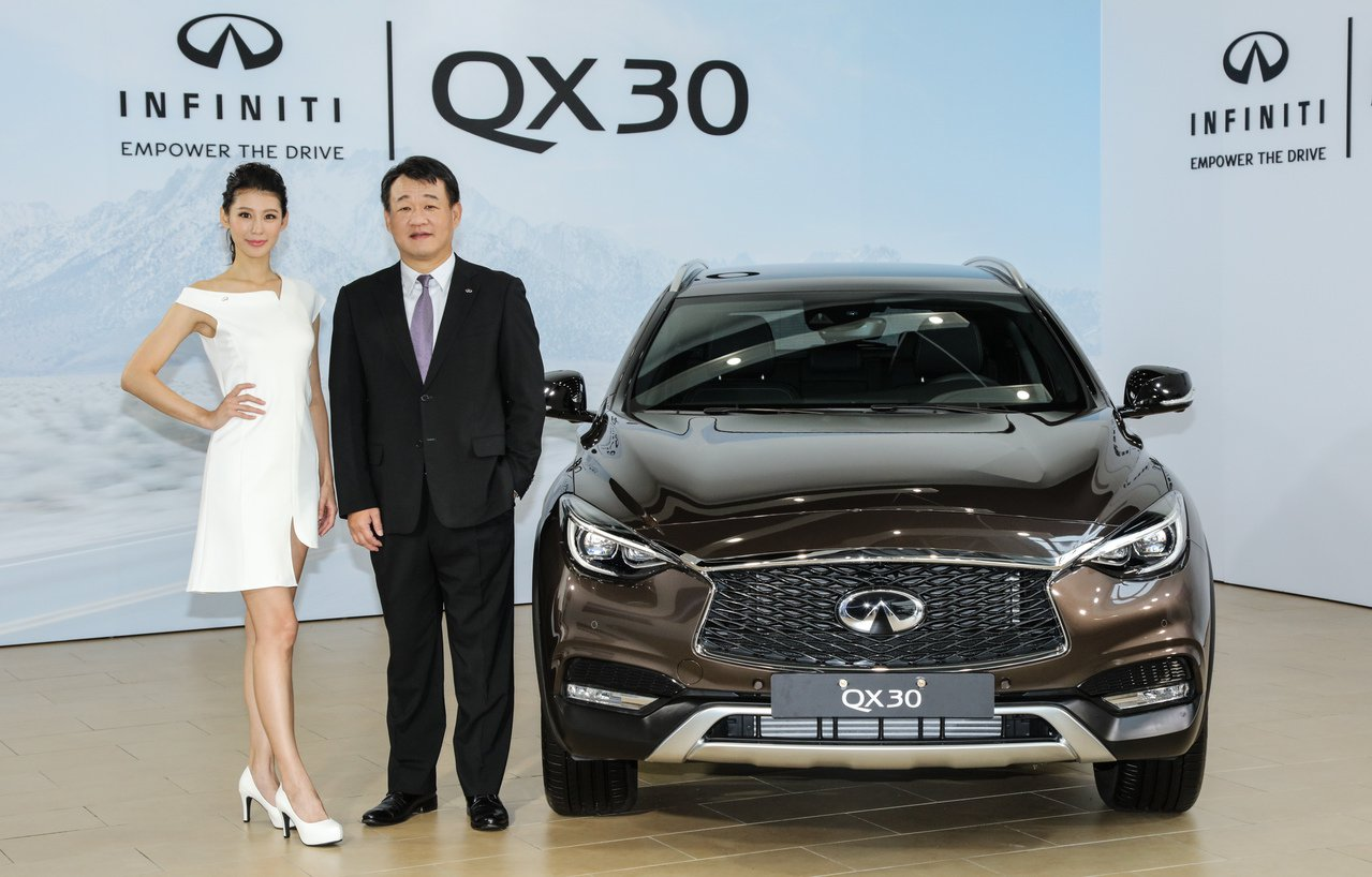 INFINITI TAIWAN將於2018世界新車大展中盛大展出全新小型運動休旅...