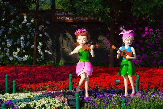 花卉節各種鮮豔花朵盛開,可說是網美必打卡景點。圖/泰國觀光局提供