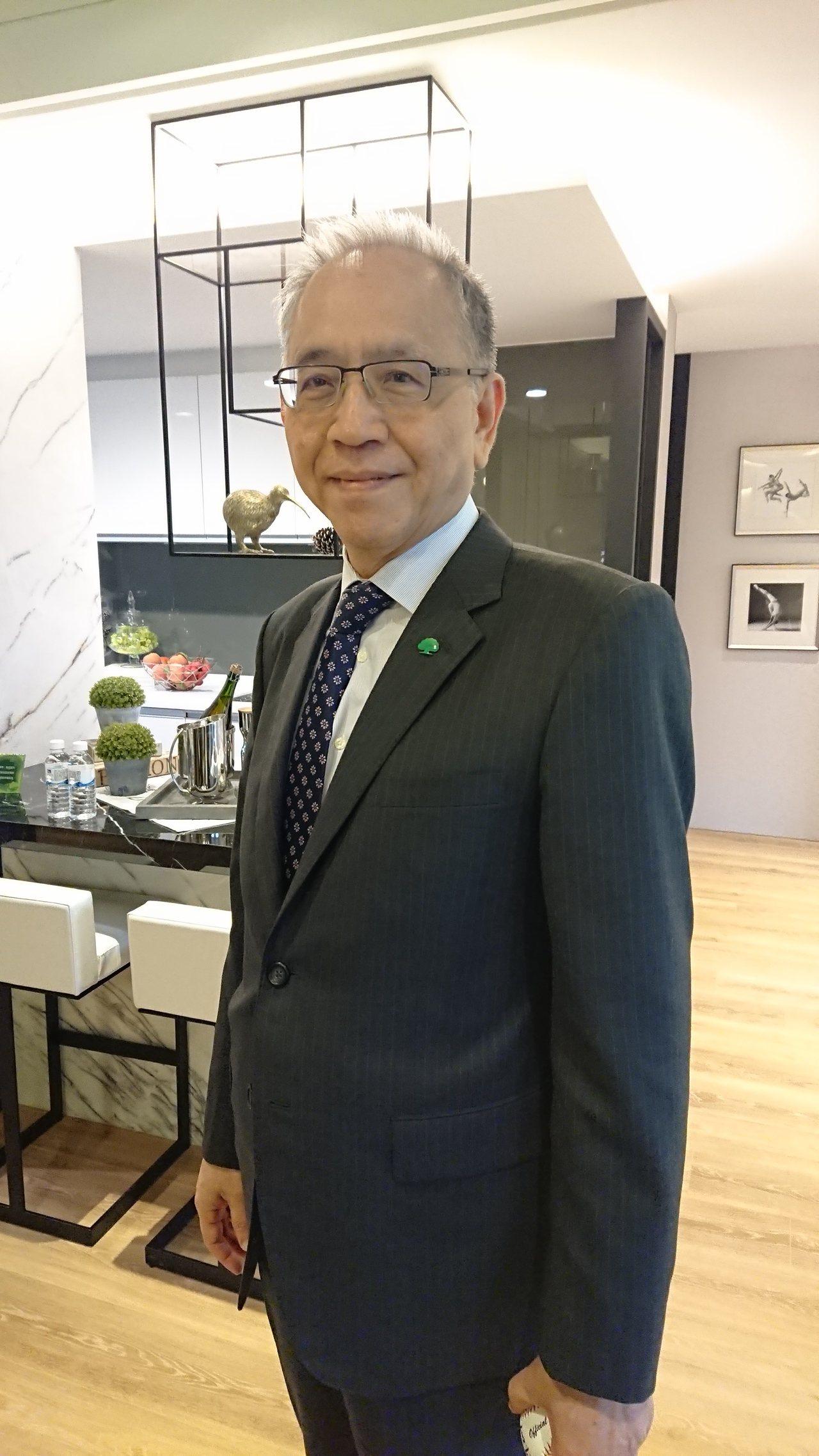 國泰建設董事長張清櫆表示,目前房市成交量已經回升,且價格有轉趨平穩跡象,認為明年...
