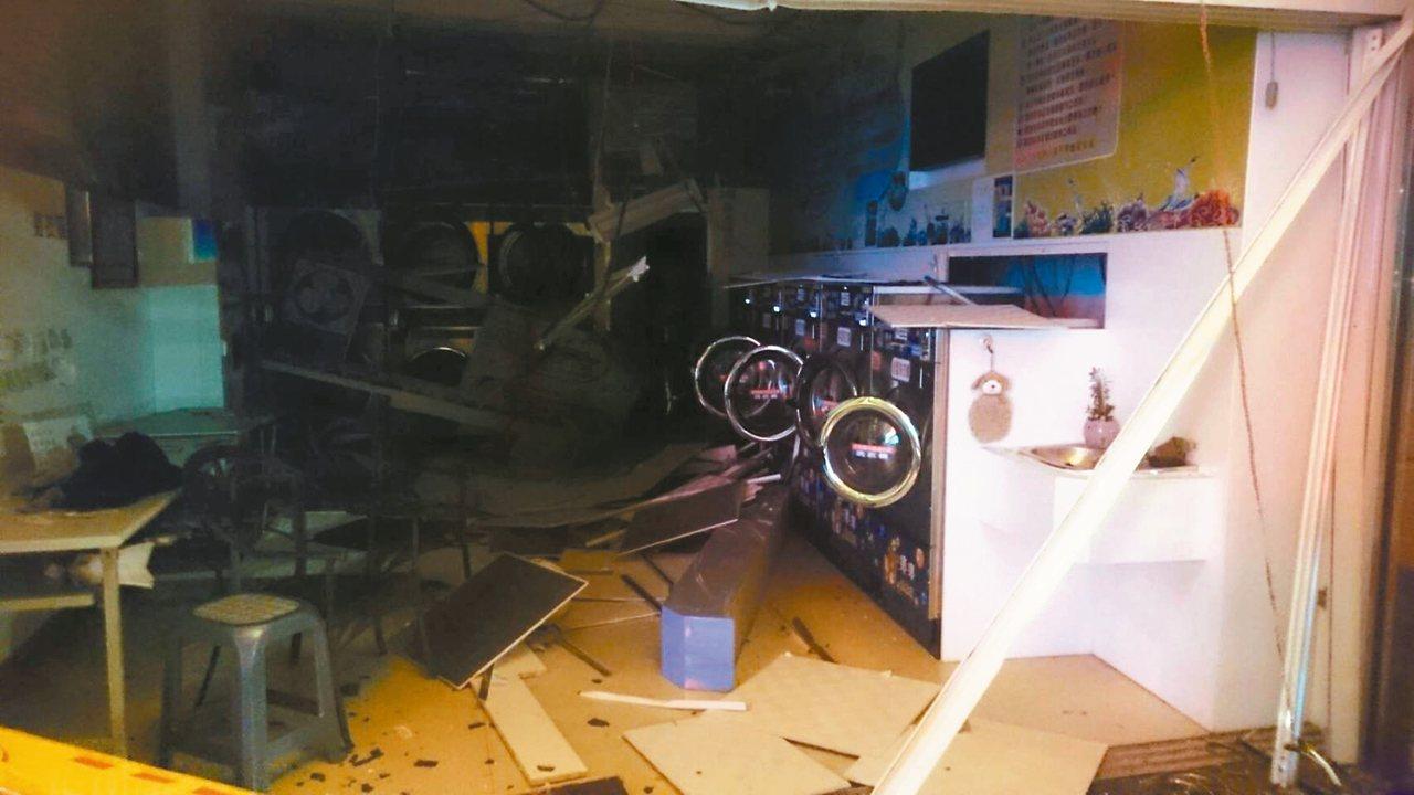 彰化縣自助洗衣店全沒營業登記 更別說瓦斯使用列管…