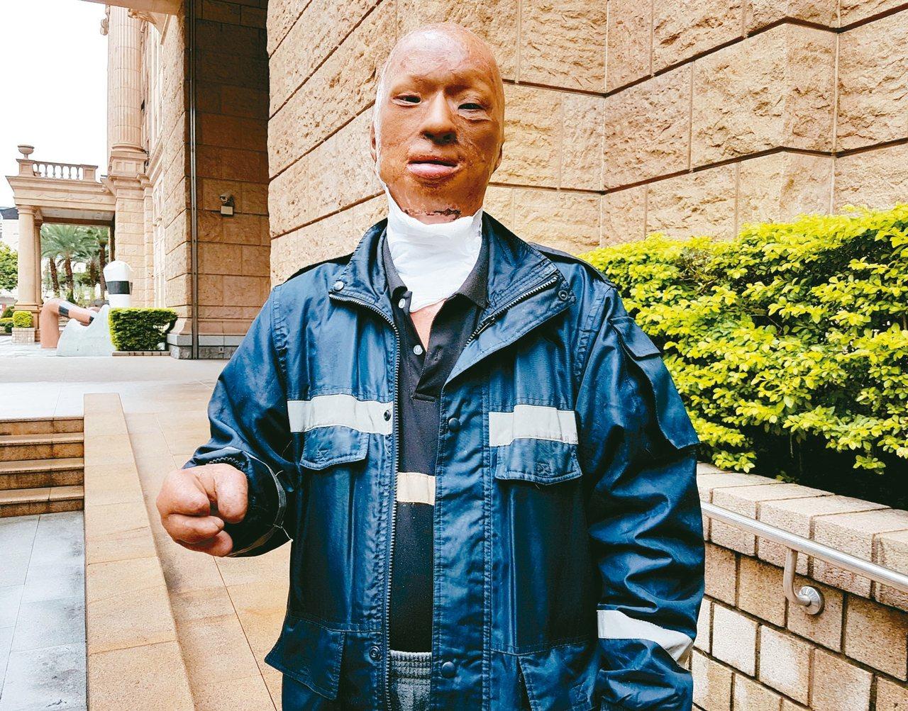 跌入油槽而昏迷的林姓男子,因消防員切割油槽引發柴油閃燃而嚴重灼傷,他請求國家賠償...