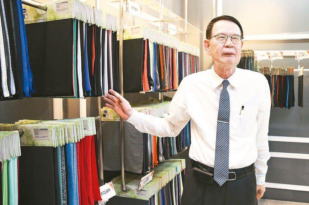 儒鴻企業董事長洪鎮海。聯合報系資料照/記者楊萬雲攝影