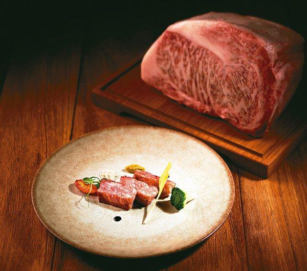 彩匯自助餐廳日本和牛主菜,鮮嫩多汁口感絕妙。
