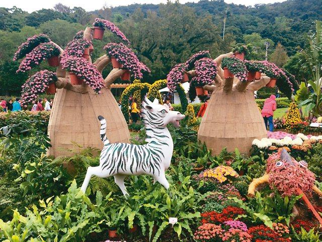 菊展展期將於12月10日閉幕。