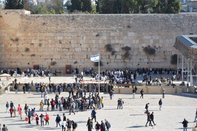 哭牆被猶太人視作最為神聖的地方。 路透