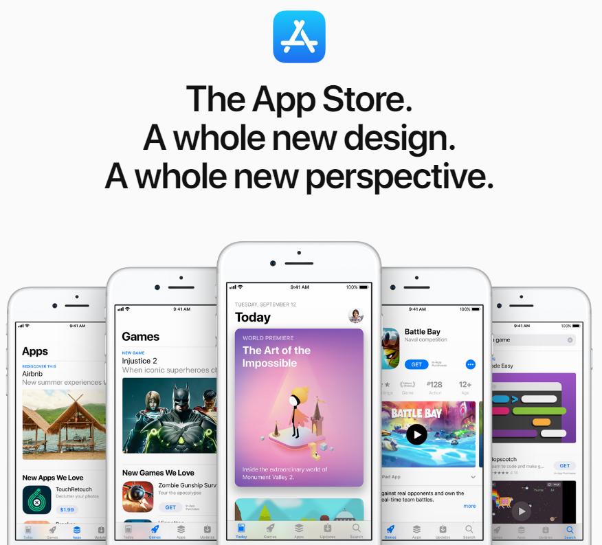 圖擷自App Store 2017年度精選榜單