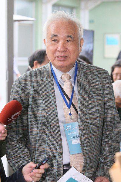 前總統府資政姚嘉文。記者許正宏/攝影