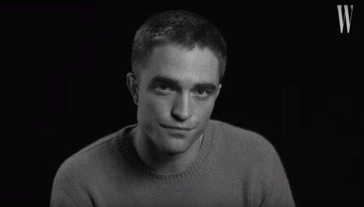 羅伯派汀森。圖/擷自W Magazine YouTube