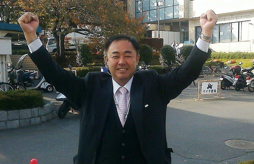 東京都葛飾區議員鈴木信行。 圖擷自鈴木信行臉書