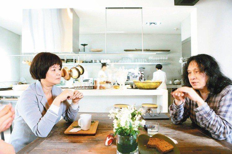 郭英聲與陳季敏10年合作無間。圖/記者陳立凱攝影