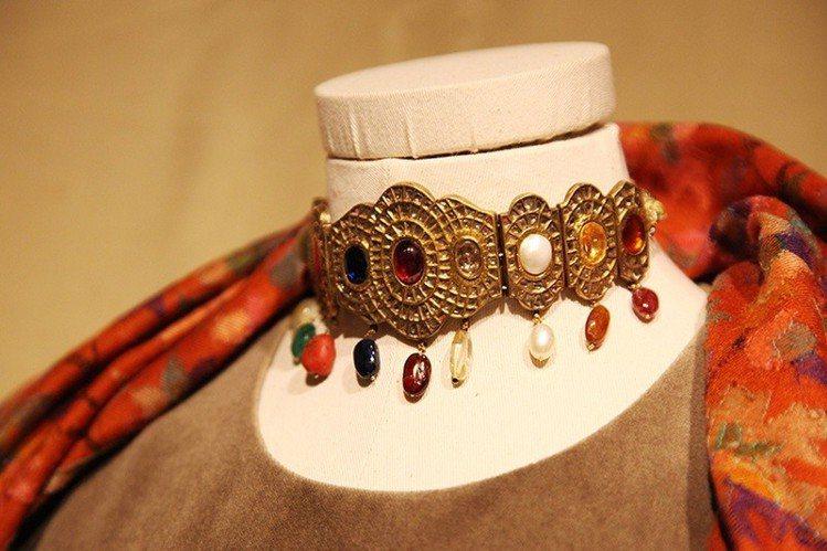 印度珠寶與織品的絢爛滑立,讓陳季敏深深著迷。圖/JAMEI CHEN提供