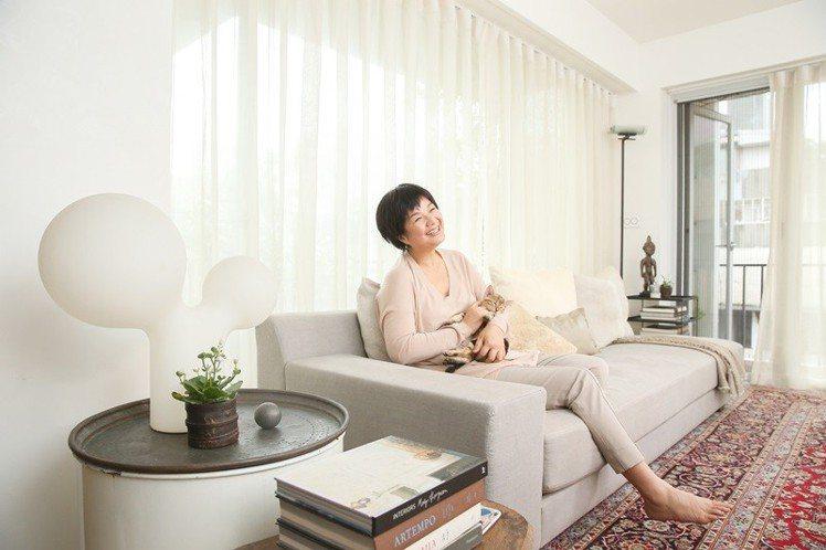 陳季敏從生活中提煉設計美學。圖/記者陳立凱攝影