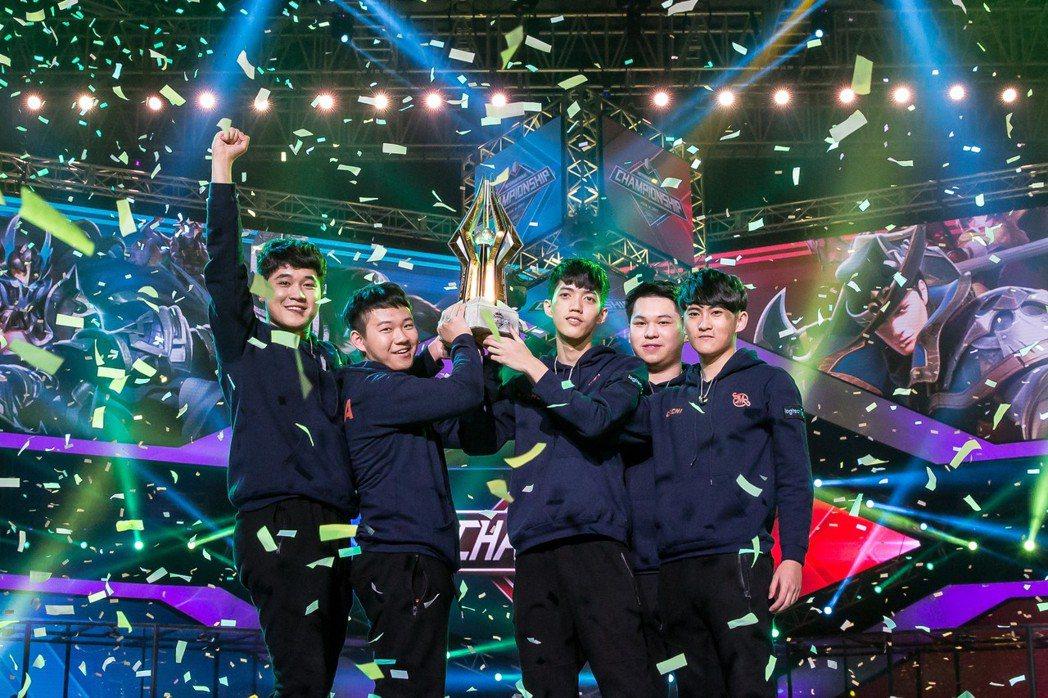 知名藝人林俊傑的SMG戰隊勇奪世界冠軍,再現電競台灣之光!