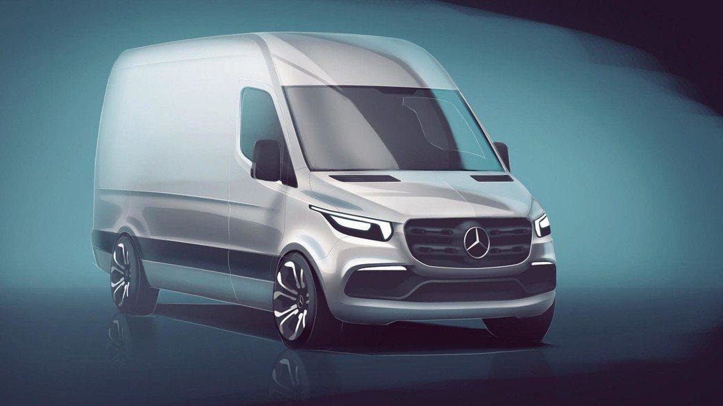 來自德國的豪華品牌M.Benz就將推出全新改款商用車─Sprinter。 圖片來...