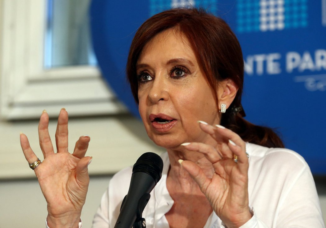 阿根廷前總統費南德茲。路透