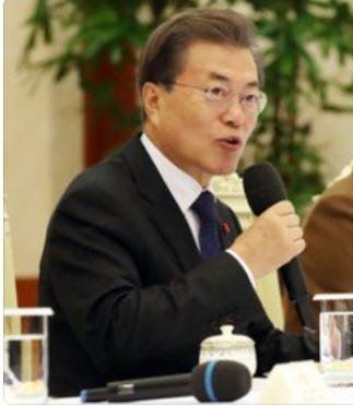 韓國總統文在寅特意安排15日至16日到重慶找建國之根。取自人民日報海外網