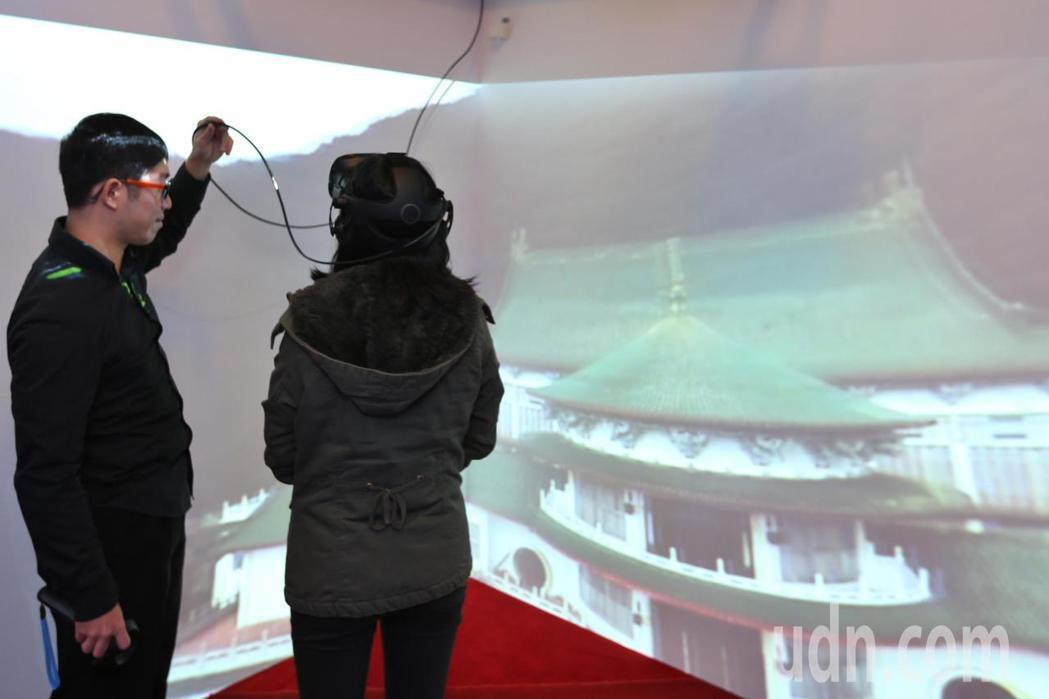 中山樓上午舉行「穿越五十,中山樓故事展」開展記者會。記者林伯東/攝影