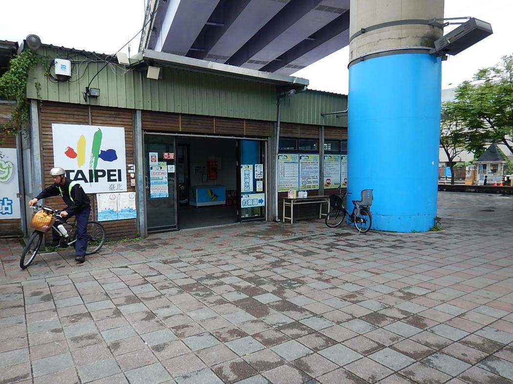 北市河濱自行車站年度檢修將暫停營業5天。圖/水利處提供