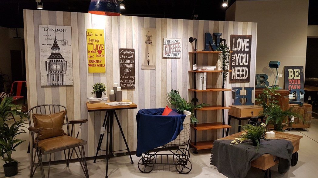 家具品牌純真年代進駐紐約家具設計中心八德館。記者王韶憶/攝影