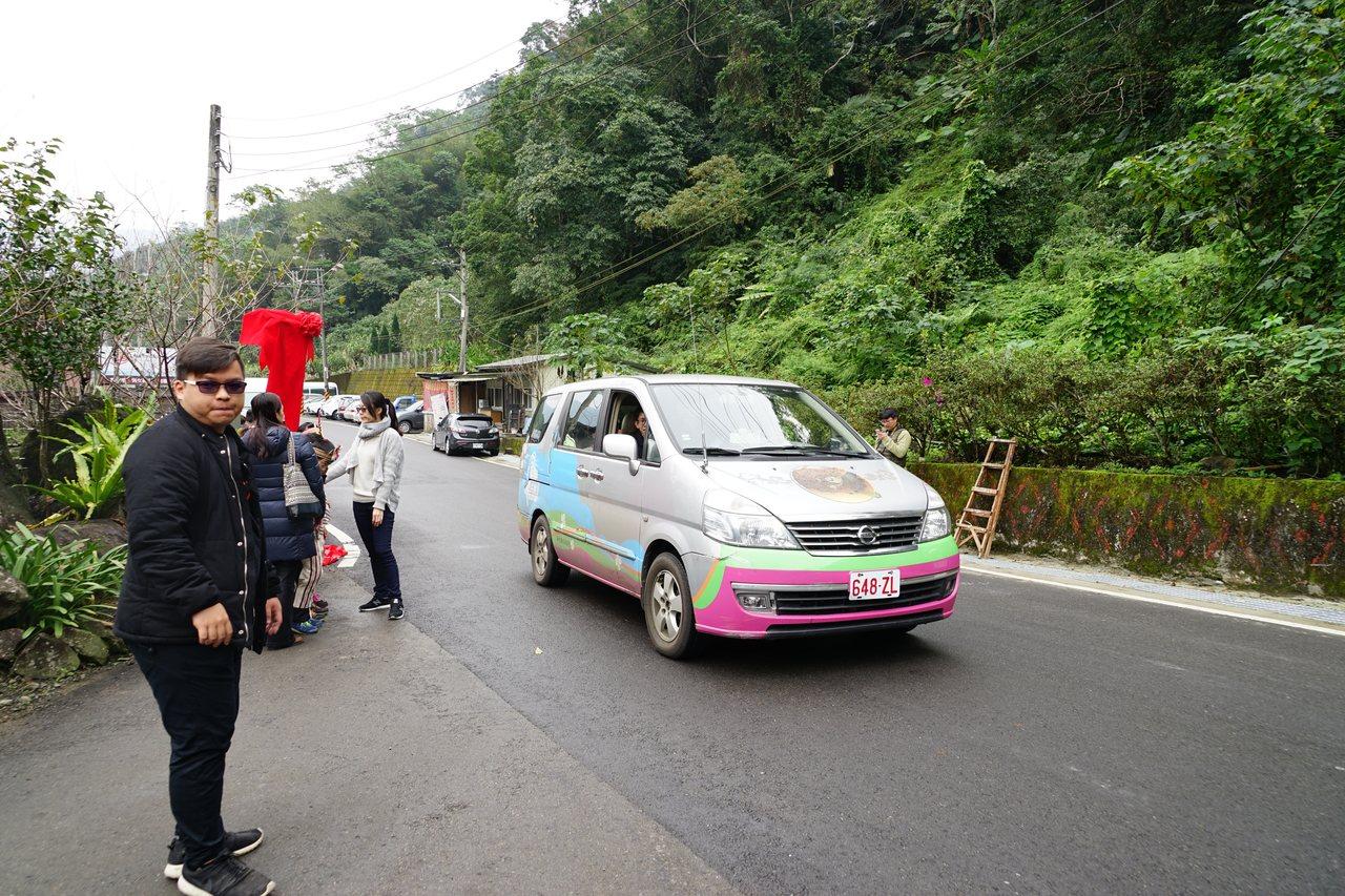新竹縣尖石鄉今年推出觀光公車,共有3條路線。記者陳妍霖/攝影