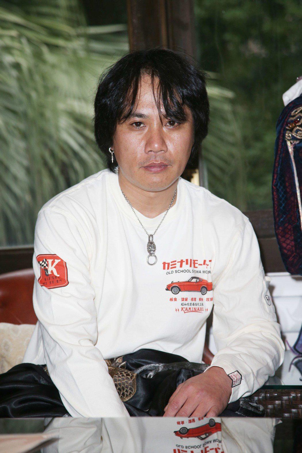 「殺無生篇」原著江波光則來台訪問。記者陳瑞源/攝影