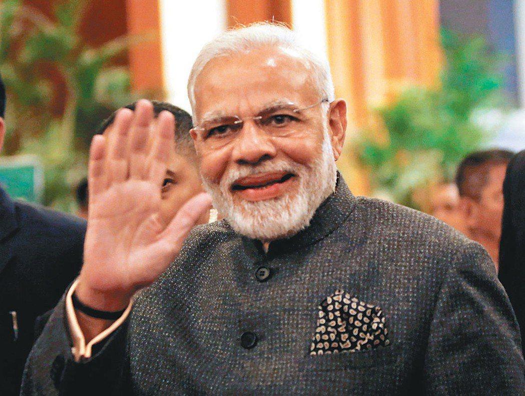 印度總理莫迪。 路透